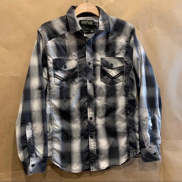 Surplus by Fame Jeans Inc western shirt Men's M